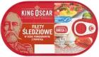 Filetes de arenque rey Oscar en salsa de tomate con pimentón