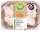 SuperDrob Kurczak Alitas de pollo idílicas de clase A, recién criadas sin antibióticos, sin OMG