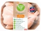 SuperDrob Kurczak Идиллическая куриная тушка без потрохов, класс А, только что выращенная, без антибиотиков, без ГМО