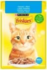 Корм для кошек Purina Friskies в соусе из лосося