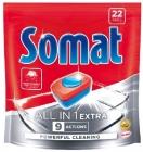 Pastillas para lavavajillas Somat All in 1 Extra