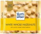 Chocolate blanco Ritter Sport con avellanas enteras tostadas