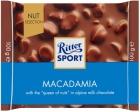 Ritter Sport Молочный шоколад с кусочками орехов макадамия