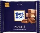Ritter Sport Молочный шоколад с начинкой из нуги - с фундуком