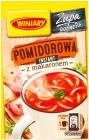 Винный томатный суп с лапшой