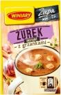 Винный суп Журек с гренками