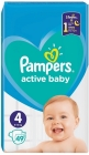 Pañales Active Baby Pampers 4 9-14 kg