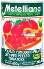 Metelliana pomidory bez skórki