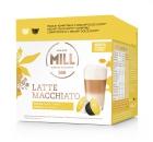 Cápsulas de café Mr&Mrs Mill Latte Macchiato, compatibles con Dolce Gusto