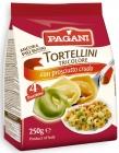 Pasta de huevo Pagani Tortellini con relleno de carne