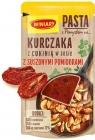 Паста Winiary с идеей для курицы с цукини в соусе с вялеными помидорами