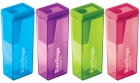 Точилка для карандашей Berlingo NeonBox микс цветов