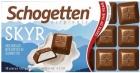 Schogetten Skyr Молочный шоколад с начинкой Skyr