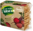 Tovago Beetroot crisp bread