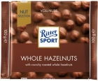 Chocolate con leche Ritter Sport con avellanas tostadas enteras