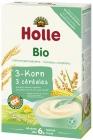 Каша Холле, 3 зерна риса, кукуруза и пшено, безмолочные