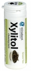 Miradent chewing gum with xylitol, green tea flavor