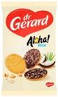 Печенье Dr. Gerard с какао-глазурью, посыпанное кокосовой стружкой