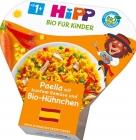 Paella HiPP con verduras de colores y pollo BIO