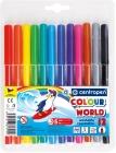 Rotuladores Centropen 12 colores Color World 7550
