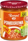 Pamapol tomato soup with rice