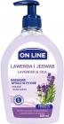 ON LINE Lavender and SILK creamy liquid soap