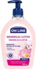 Jabón líquido cremoso ON LINE MAGNOLIA y LOTOS