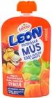 Hortex Leon Mousse яблоко персик банан морковь тыква