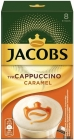 Jacobs Cappuccino coffee drink with caramel flavor