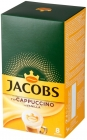 Jacobs Cappuccino coffee drink with vanilla flavor