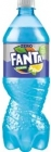 Fanta Zero A carbonated drink with a lemon flavor and elderberry flower