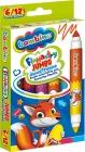 Bambino Jumbo double-sided markers 6/12 colors