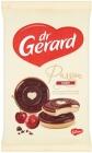 Bizcocho Dr. Gerard con gelatina de cereza. crema y chocolate