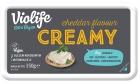 Queso Crema Violife Cheddar alternativo 100% vegano, a base de aceite de coco
