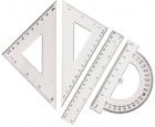 Tetis Zestaw geometryczny z linijką