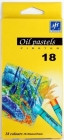Titanum Firster oil pastels 18 colors