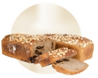 Janca wholemeal bread with plum