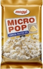 Mogyi Popcorn in the microwave with a cheese flavor