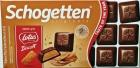 Chocolate con leche Schogetten con relleno de galleta de caramelo y crumble de galleta de caramelo
