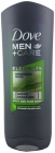 Dove Men + Care Minerals + Sage Shower gel for washing the body and face