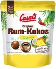 Casali Rum-Coconut coconut dragees with a liquid filling with the addition of rum with pineapple flavor