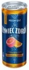 Żywiec Zdrój Starkes Gas und eine natürliche Note von Orange und Grapefruit