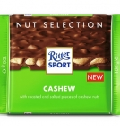 Ritter Sport Milk Chocolate with Roasted, Salted Cashew Nuts