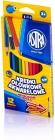 Lápices de colores acuarelables Astra 12 colores