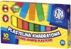 Cuadrado de plastilina Astra 10 colores