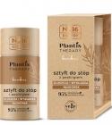 Nr.36 Plantis Therapie Fußstock mit Peeling, Bambus