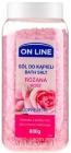 On Line Rose bath salt - Relaxation