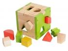 EverEaeth Wooden cube shape sorter