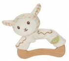 EverEarth Wooden-cotton sheep gripper made of organic cotton, area 3 months