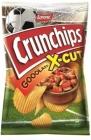 Patatas fritas Lorenz Crunchips X-Cut Gooolasz con sabor a carne